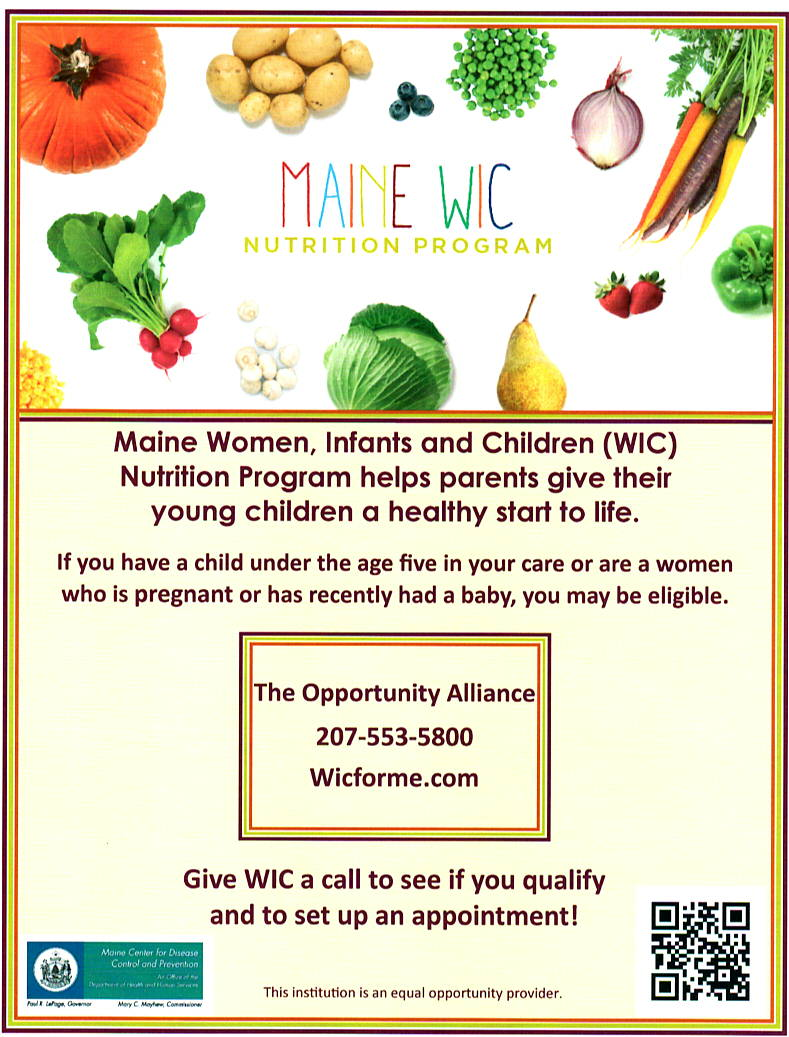 What Do You Know About Maine Wic Nutrition Program
